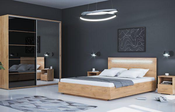 Łóżko Orlando + LED